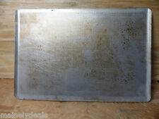 LOT OF 6 CHICAGO METALLIC 485P FULL SIZE PERFORATED BAKING SHEETS COM USED