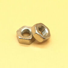 2Pcs M12 x 1.75 Metric Left Hand Thread Stainless Steel Hex Nut