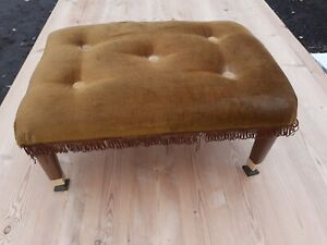 Vintage footstool 8 inch high
