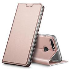 Handy Hülle Huawei Y7 2018 Book Case Schutzhülle Tasche Slim Flip Cover
