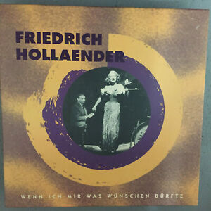 FRIEDRICH HOLLAENDER: Wenn ich mir was wünschen.. (8-CD-Box BCD 16 009 HK / neu)