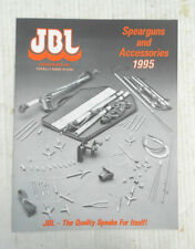 1995 Jbl Spearguns & Accessories Catalog -15 Pages - New Condition
