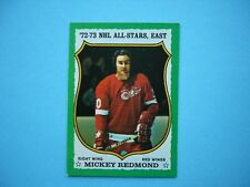 1973/74 O-PEE-CHEE NHL HOCKEY CARD #180 MICKEY REDMOND EXNM NM SHARP!! 73/74 OPC