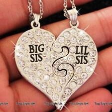 BLACK FRIDAY SALE Big Sister Necklace Lil Sister Jewellery Best Friends Girl E0