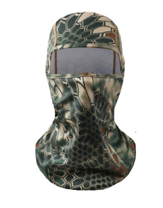 Snake Camo Face Veil Hunting Face Covering Shooting Camouflage Cover Balaclava