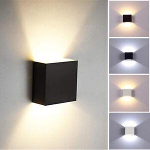 COB LED Wandleuchte Wandlampe Flur Strahler Licht Up Down Innen 6W Modern DPD