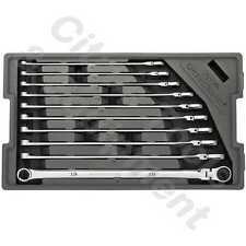 GearWrench 86126 10 Piece 120XP Universal Spline Metric XL Flex GearBox Wrenches