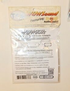 TCS #1771 WDK-ATH-2 WOWKit HO Scale Athearn Genesis Diesel DCC/Sound Decoder NEW