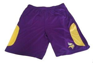 Minnesota Vikings NFL Team Apparel Mens Purple Shorts Size XL