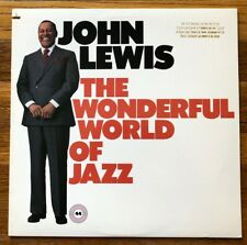 John Lewis The Wonderful World of Jazz RARE original promo issue vinyl LP record