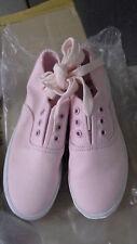 Girls Small Canvas Shoes Pink size AUS 2/ EUR 34/ USA 3 / UK 2 / JPN 22