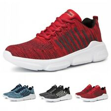 Men Walking Jogging Outdoor Sport Sneaker Athletic Running Shoes Breathable Sz L