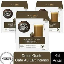 Nescafe Dolce Gusto Coffee Pods 3x Boxes / 48 Caps Cafe Au Lait