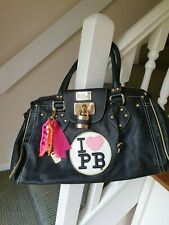 PAULS BOUTIQUE BLACK BAG – GENUINE WITH CHARMS