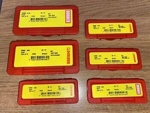DORMER E500 HSS Standard Metric Tap Sets - M3 M4 M5 M6 M8 & M10. BNIB