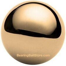 "One 3/4"" Solid brass bearing ball"