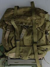 MILITARY OD GREEN FIELD ALICE LC-1 BACK PACK FRAME RUCK SACK RUCKSACK MEDIUM