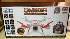 Omega Spy Drone 1080P Hd - 2.4Ghz by World Tech Toys - New