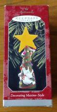 Vintage Hallmark Keepsake Ornament 1998 Decorating Maxine-Style with Floyd Nib