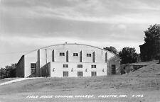 Fayette Missouri~Central Methodist College~University~Field House~1952 RPPC