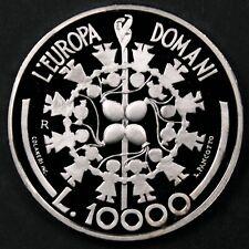 San Marino 1999 10000 Lire, European Union - Superb Gem Proof DCAM