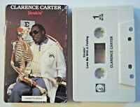 CLARENCE CARTER - STROKIN' (4:35) / LOVE ME WITH FEELING Cassette Single - 1989