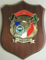 """Crest """"RC EAST KAPISA - TASK FORCE FRANCIA - ISAF AFGHANISTAN"""" - (Originale PX)"""