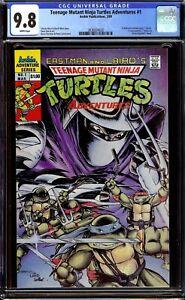Teenage Mutant Ninja Turtles Adventures #1 CGC 9.8 NM/M...1989 Regular Series