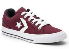 CONVERSE Distrito Kids Sneakers Red Athletic Shoes Canvas Casual Youth 359792F