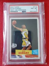 2007-08 Kevin Durant Topps RC rookie 1957 variation #112 PSA 8 NM-MT HOT!