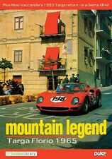 Mountain Legend - Targa Florio 1965 (New DVD) Motor Racing Ferrari Vaccerella