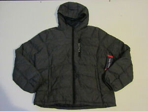 NWT Mens NAUTICA Heather Gray Ultra Light Down Jacket Quilted Puffer Coat XL