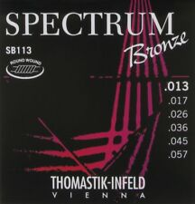 Thomastik Infeld SB113 Spectrum Bronze Acoustic Guitar Strings gauges 13-57