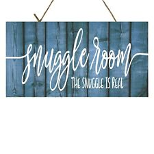 Snuggle Room The Snuggle is Real  Printed Handmade Wood Sign