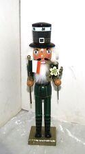 "IRISH MAN  NUTCRACKER 15"" TALL - NEW- FREE SHIPPING"