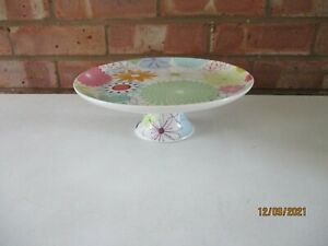 Portmeirion Crazy Daisy Footed Cake Stand - Brand New