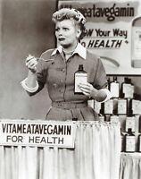 I Love Lucy Lucille Ball Vitameatavegamin 8x10 Photo