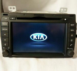 Original KIA Sportage III Navigationsgerät Navigation Radio AUX USB LAN3110EKSL