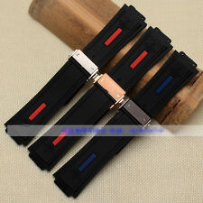 28mm*19mm rubber diver watch strap silicon band for HUBLOT