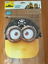 BRAND NEW Pirate Minion Face Mask - Eye Matie - FREE P&P