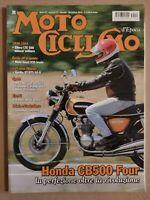 MOTOCICLISMO D'EPOCA NOVEMBRE 11 2015 HONDA CB500 GILERA LTE 500 GUZZI V35 IMOLA