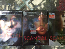 SCANDAL: The Complete SEASONS 1-3 1,2,3 DVD New