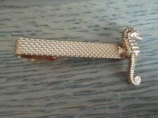 Vintage Gold Tone Seahorse Tie Tack