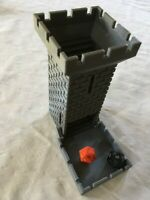 Castle dice tower with folding tray