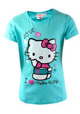 Hello Kitty Girls' Novelty/Cartoon Short Sleeve Sleeve T-Shirts & Tops (2-16 Years)