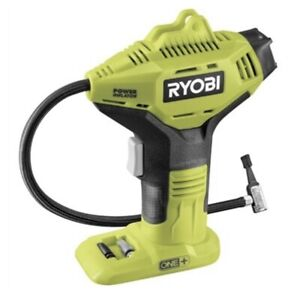 Ryobi 18V ONE+ Digital Pressure Inflator - Tool Only 35mm digital gauge BAR/ PSI