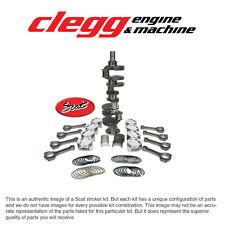 CHRYSLER 360-408 SCAT STROKER KIT Forged(Dish)Pist., I-Beam Rods, Forged Crank