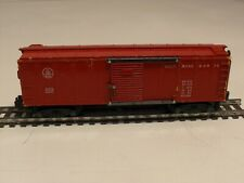 Vintage S Scale American Flyer Red Baltimore & Ohio Box Car 633