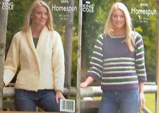 King Cole  Chunky Knitting Pattern 2970: Jacket & Sweater
