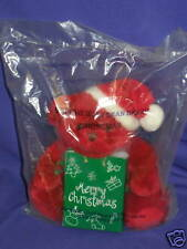 "Vintage Avon Christmas Jelly Bean Bear 1999 7"" Mint"